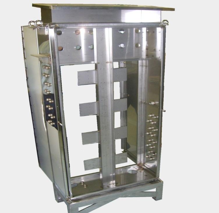 屋外設置用ステンレス空圧制御盤