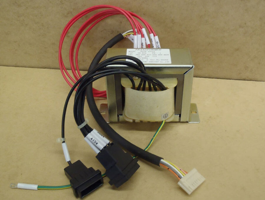 配線の簡素化を実現したリード線仕様トランス(50VA)
